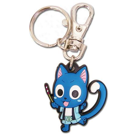 Key Chain - Fairy Tail - New SD Chibi Happy Yukata Toys Anime Ring ge36864 ()