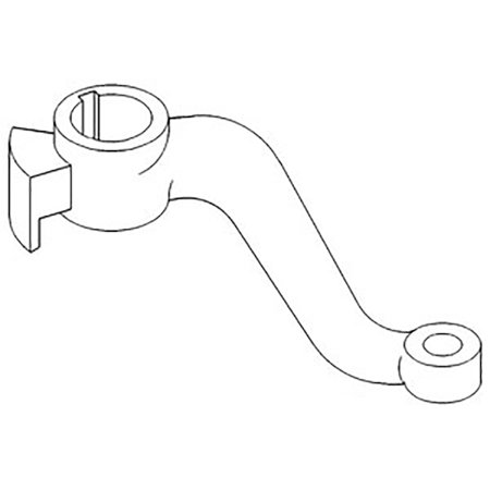 70260291 70260289 New RH Steering Arm For Allis Chalmers
