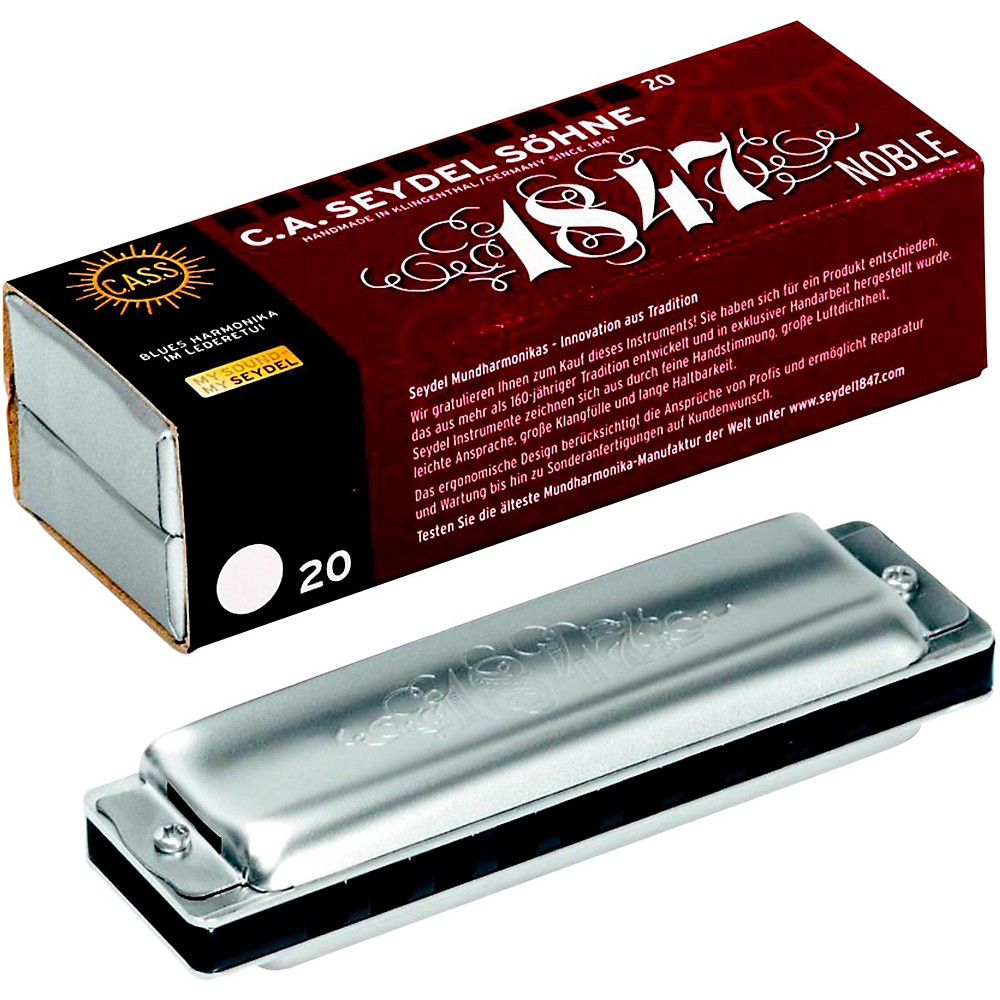SEYDEL Blues Noble 1847 Harmonica Low F