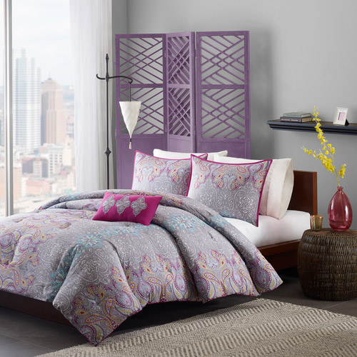 Home Essence Apartment Camarillo Bedding Comforter Set, Purple