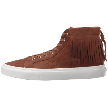 2140f3ebcf Vans - Vans Unisex Sk8-Hi Moc Suede Skate Shoes-Brown - Walmart.com