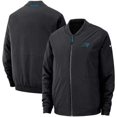 Carolina Panthers Men's Black Nike NFL Bomber Jacket