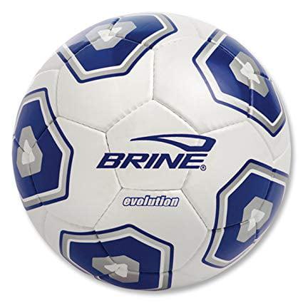 New Brine SBEVO9-4NV Evolution Soccer Ball Size 4 Navy/Silver/White