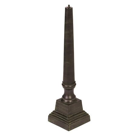 Cast Aluminum Sundial Pedestal Cast Aluminum Pedestal
