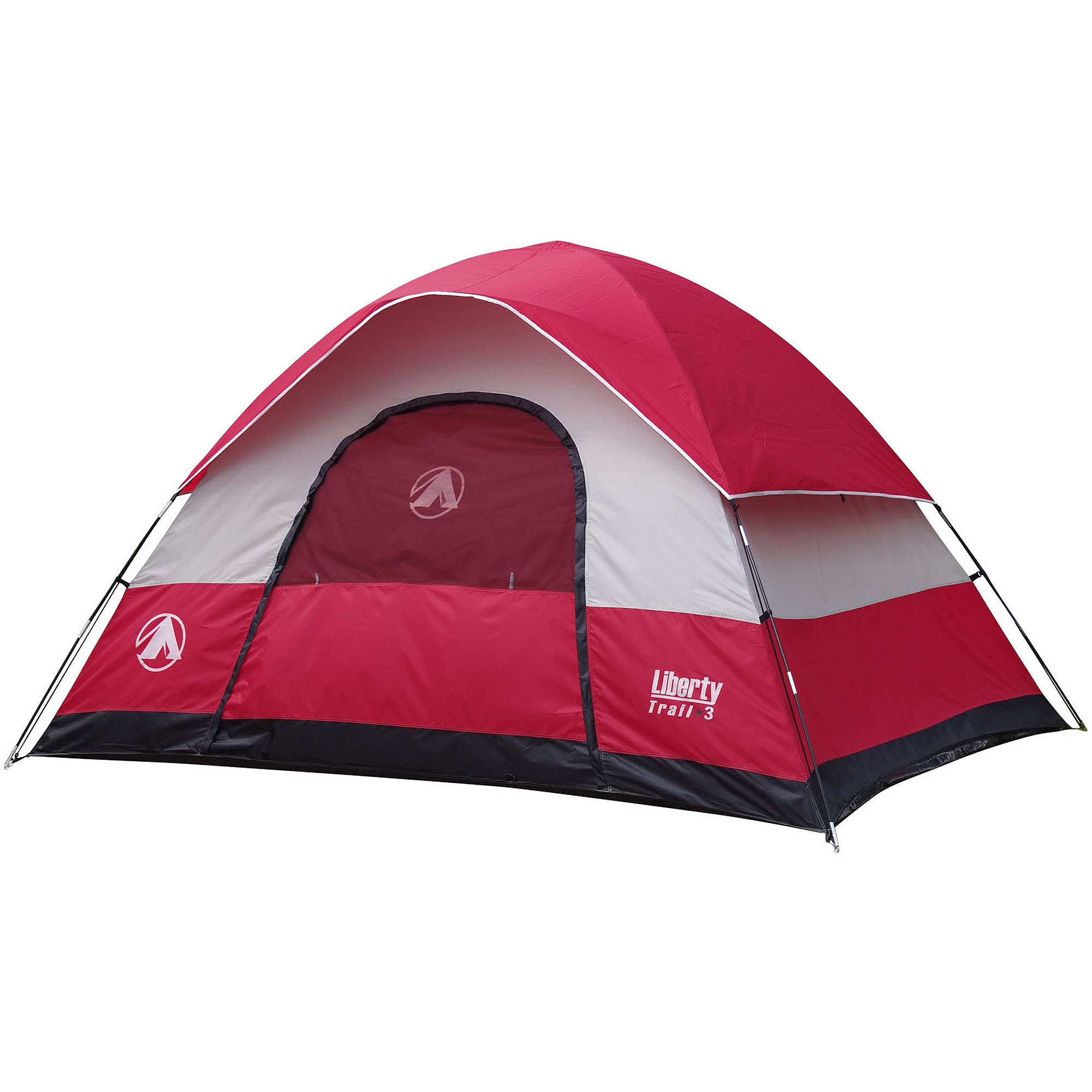 GigaTent Liberty Trail 3 8' x 10' Dome Tent, Sleeps 5