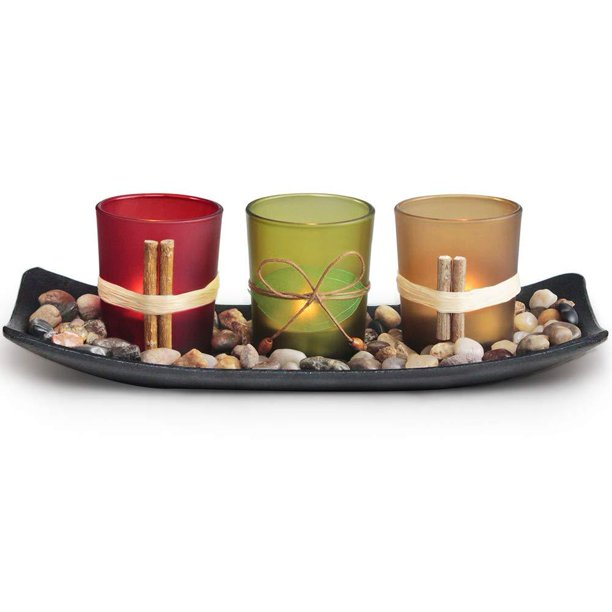 Letine Home Decor Candle Holders Set For Living Room Amp Bathroom Decor Decorative Candle Holder Centerpieces For Dining Room Table Amp Coffee Table Decor Walmart Com Walmart Com