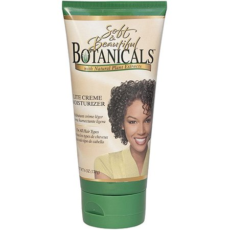 Soft & Beautiful Botanicals Lite Crème cheveux crème hydratante, 6 oz