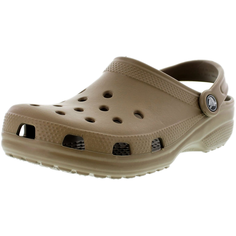 Crocs Men's Classic Navy Ankle-High Rubber Sandal - 5M