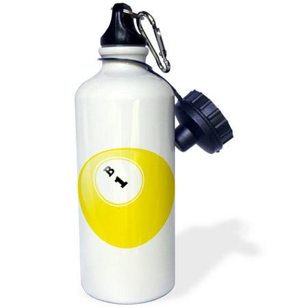 3dRose Bingo B 1, Sports Water Bottle, 21oz - Fitness Bingo
