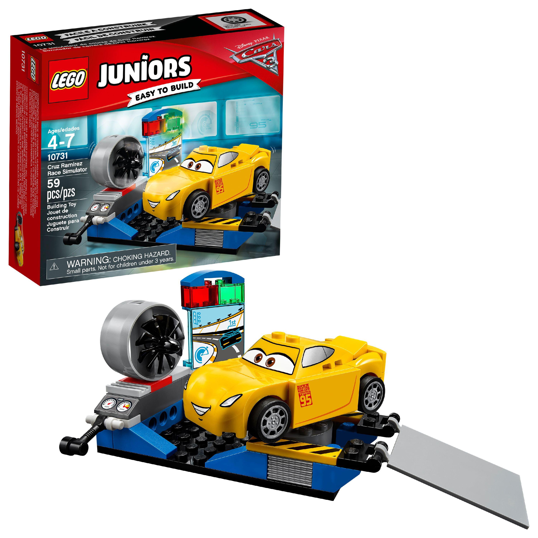 Lego Juniors Cruz Ramirez Race Simulator 10731 59 Pieces