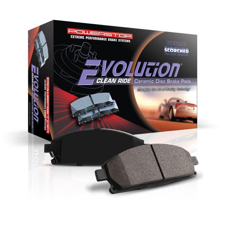 Powerstop 16-1719 PSB16-1719 EVOLUTION CLEAN RIDE CERAMIC BRAKE PADS
