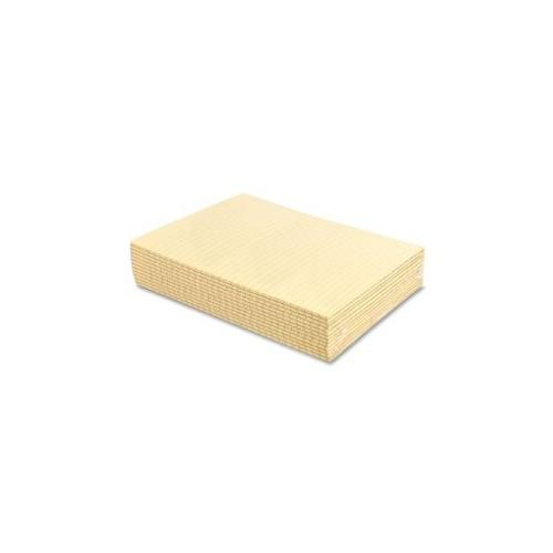 SPARCO PRODUCTS Memorandum Pads, Wide Rule, 16 lb., 8-1/2x11, Canary