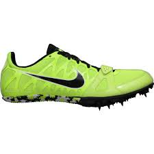 best service 06c7f bd0bd New Nike Zoom Rival MD 6 Track Spikes 468648 Mens 11.5 Volt Black White