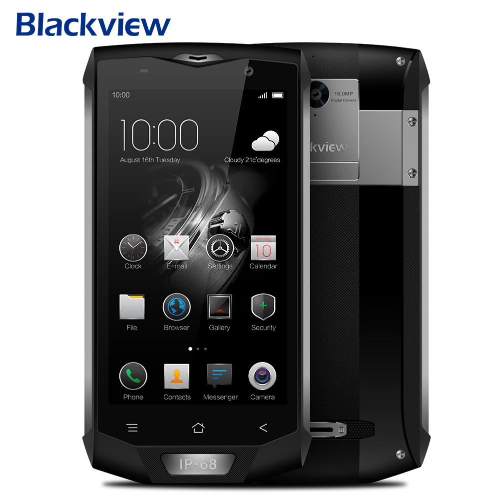 Straight Talk Smartphone Octa Core Unlcoked ,Blackview BV8000 PRO 64GB+6GB Android Cell Phones Gray