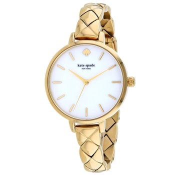 Kate Spade Women's Metro Dress Gold Chain Band Watches