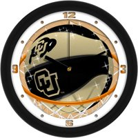 Suntime ST-CO3-COB-SDCLOCK Colorado Buffaloes-Slam Dunk Wall Clock