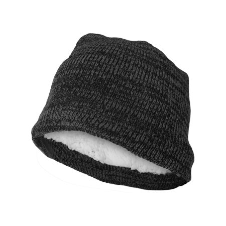 8c9d192ceb5f56 Polar Extreme Beanie Hat for Men and Women Winter Warm Hats Knit Slouchy  Thick Skull Cap (Black) - Walmart.com