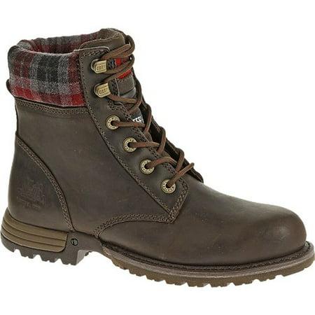 amazing quality hot sales for sale CAT Footwear Kenzie Steel Toe - Bark 6.0(W) Kenzie Steel Toe Womens Work  Boot
