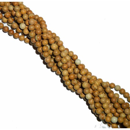 8mm Tiger Jasper Natural Round, Loose Beads, 40cm 15 inch Gemstone