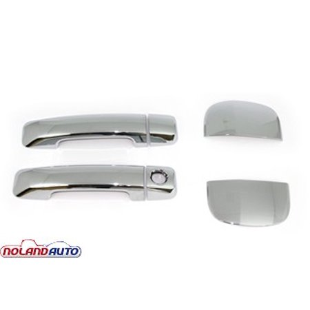 Carrichs Chrome Door Handle Covers 2007 2015 Toyota Tundra