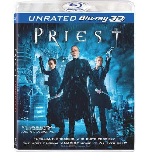 Priest (Unrated) (3D) (Blu-ray) (Anamorphic Widescreen)