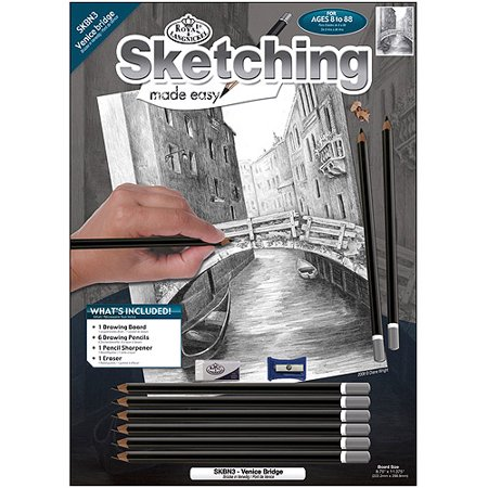 Royal Brush Sketching Made Easy Kit, 8.75