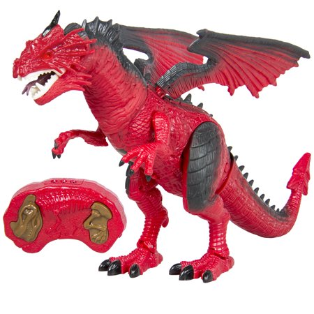 Best Choice Products Remote Control Walking Dragon Lights & Sounds Kid Pet Toy