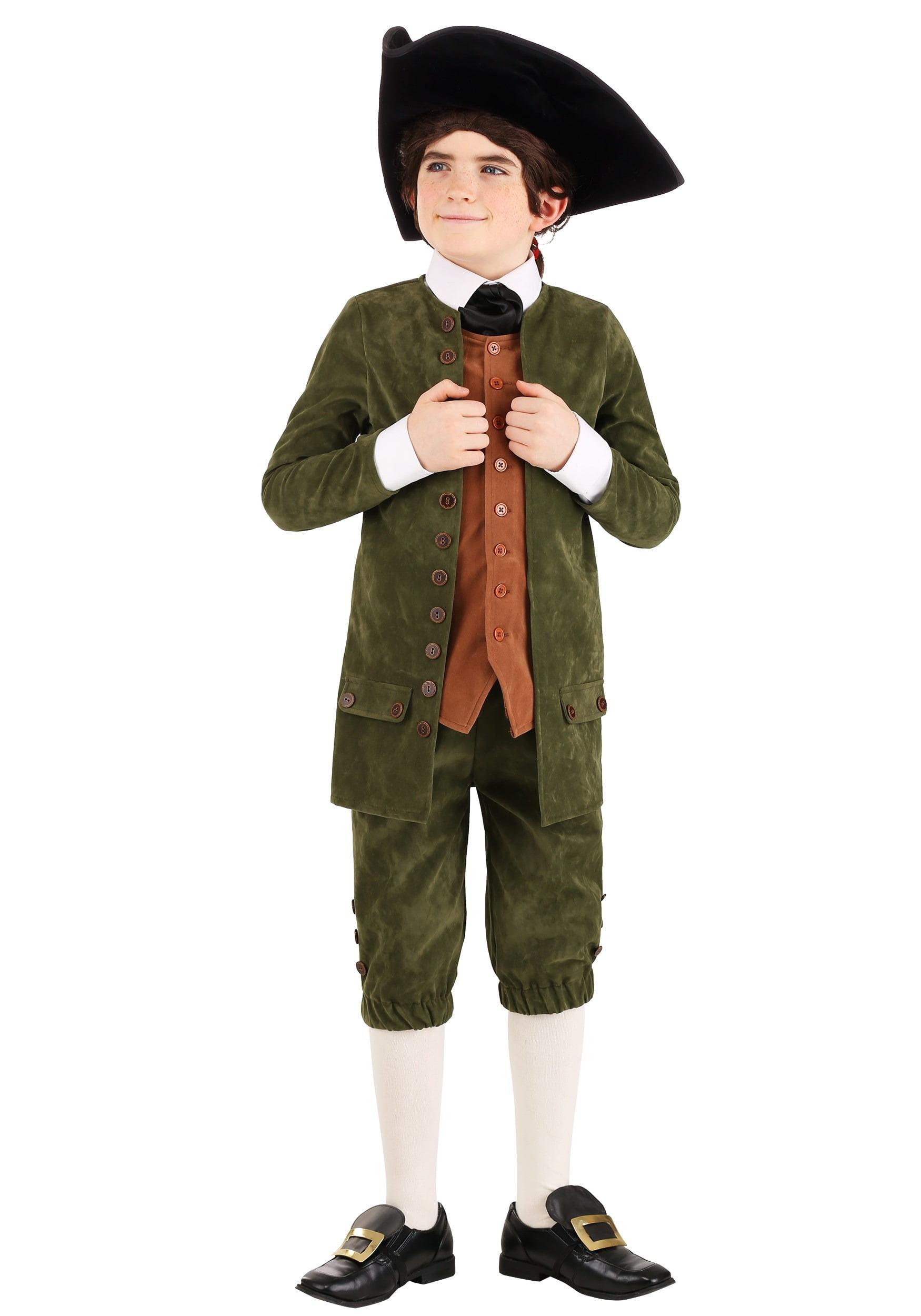 Kid S Colonial Costume Com