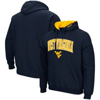 West Virginia Mountaineers Colosseum Arch & Logo Tackle Twill Pullover Hoodie - Navy