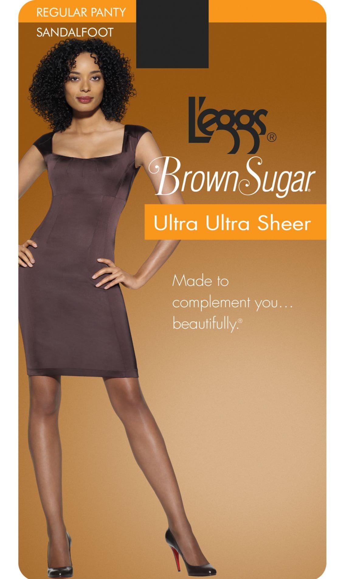 63fc0335da4 L eggs - Brown Sugar Ultra Ultra Sheer Hosiery - Walmart.com