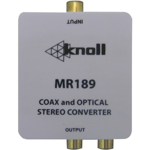 Knoll Mr189 Digital-to-analog Audio Converter - 20 Khz - White - Amplifier, Speaker, Tv, Home Theater (mr189 7)