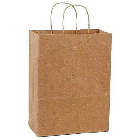 Kraft Shoppers (13 x 7 x 17 in. Shopper Kraft - Case Of 250 )