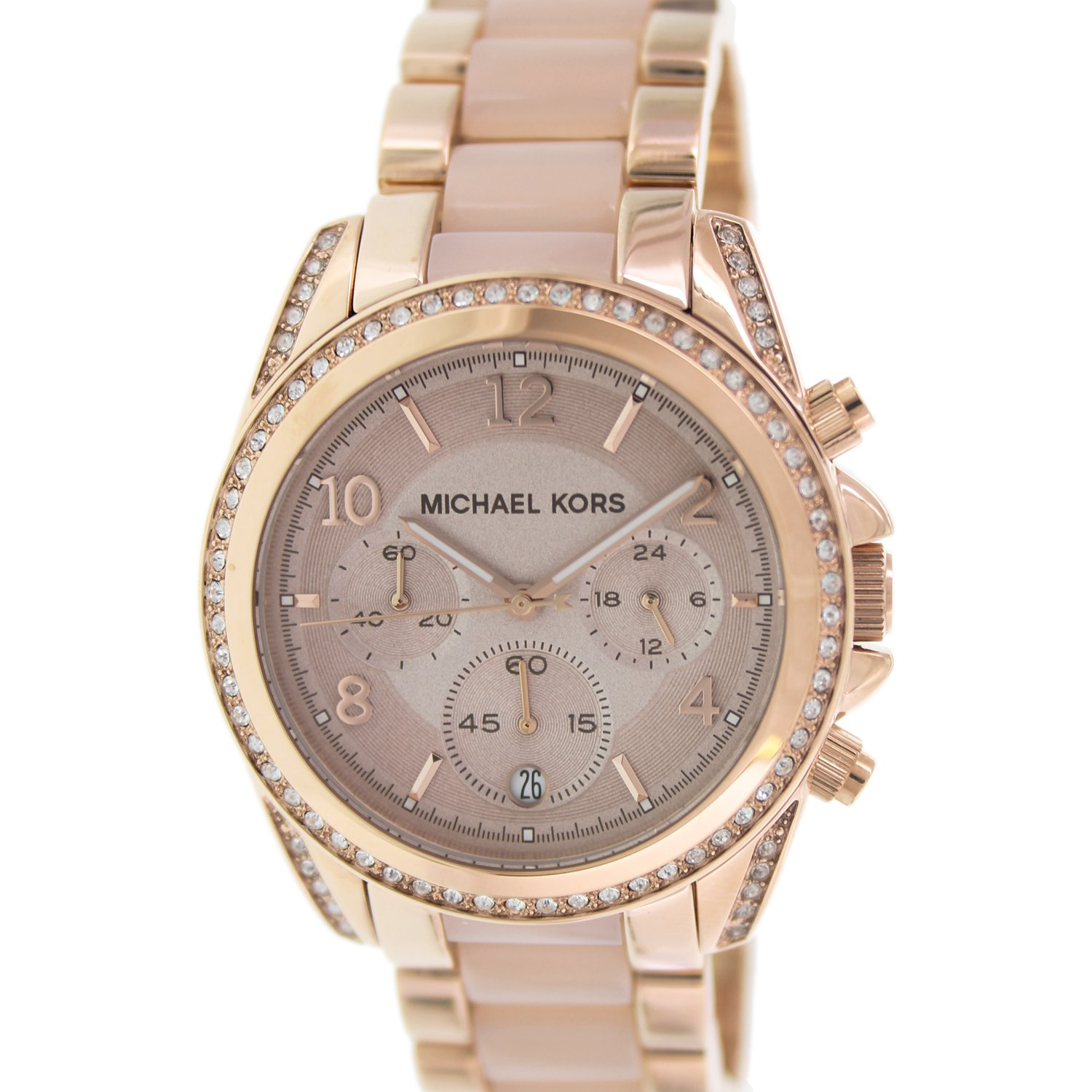 Michael Kors Women's Blair MK5943 Rose-Gold Stainless-Steel Plated Japanese Quartz Fashion Watch