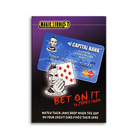 Bet On It Credit Card Trick James Ford   Magic Studio 51
