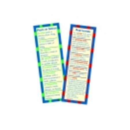 Mcdonald Publishing Parts Of Speech   Punctuation Smart Bookmark  44  Pack 36
