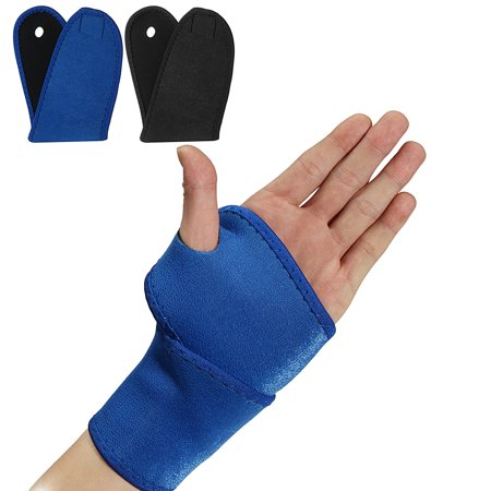 Wrist Sprain Wrap (Adjustable Neoprene Arthritis Band Belt Palm Wrist Strap Wrap Support Brace Sprain Left/Right Hand )