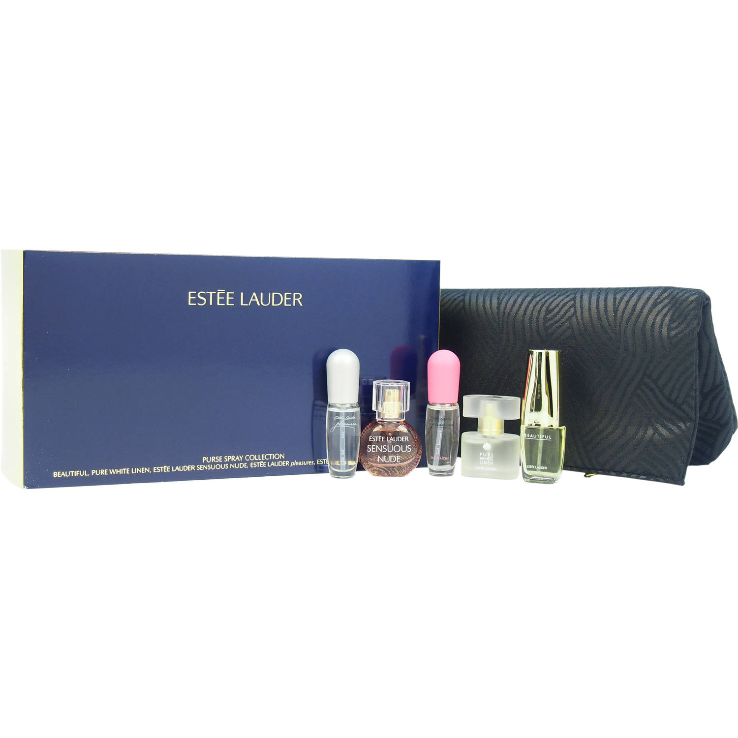 Estee Lauder Purse Spray, Collection for Women Mini Fragrance Gift Set, 6 pc - Walmart.com