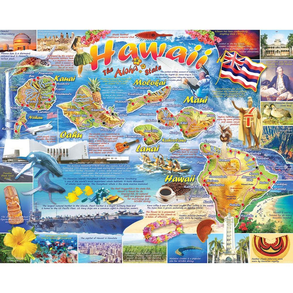 Hawaii 1000 Piece Puzzle