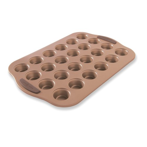 Nordic Ware 24 Cup Non-Stick Freshly Baked Mini Muffin Pan