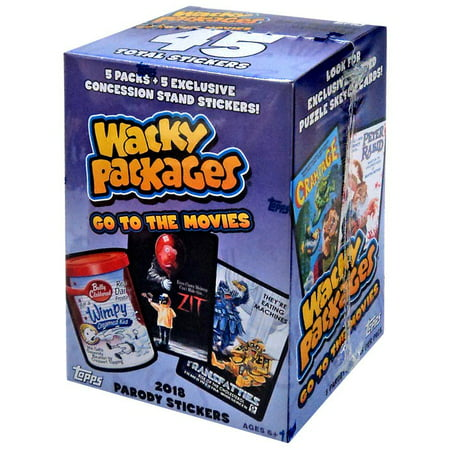 Wacky Packages Trading Cards (Wacky Packages Go to the Movies Go to the Movies Trading Card Blaster Box )