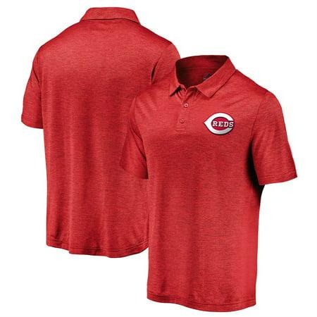 Cincinnati Reds Majestic Positive Production Polo - -