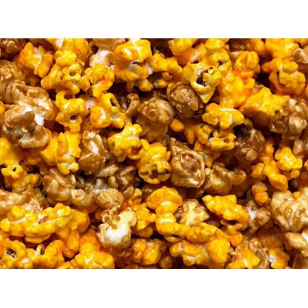 Gourmet Caramel Cheddar Cheese Popcorn 6 oz Bag Damn Good