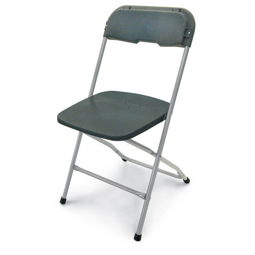 McCourt Manufacturing Series 5 Plastic Folding Chair (Set of 10)