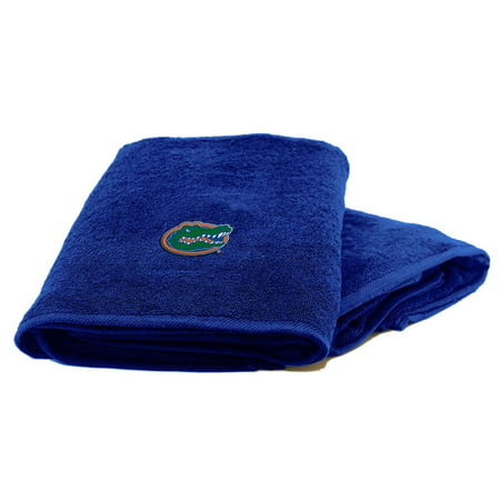 Florida Gators 2-Piece Towel Set, With 26x15 Hand and 25x50 Bath (Florida Gators Bath Set)