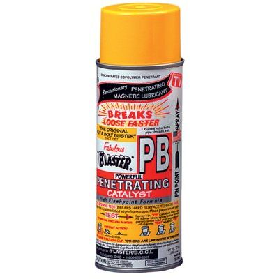 Pb Penetrating Catalysts, Liquid Lubricant/Rust Inhibitor, Can, 8 Oz