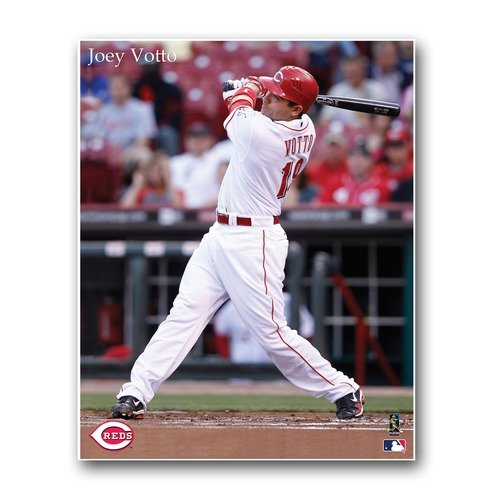 Artissimo Cincinnati Reds Joey Votto 22X28 Canvas
