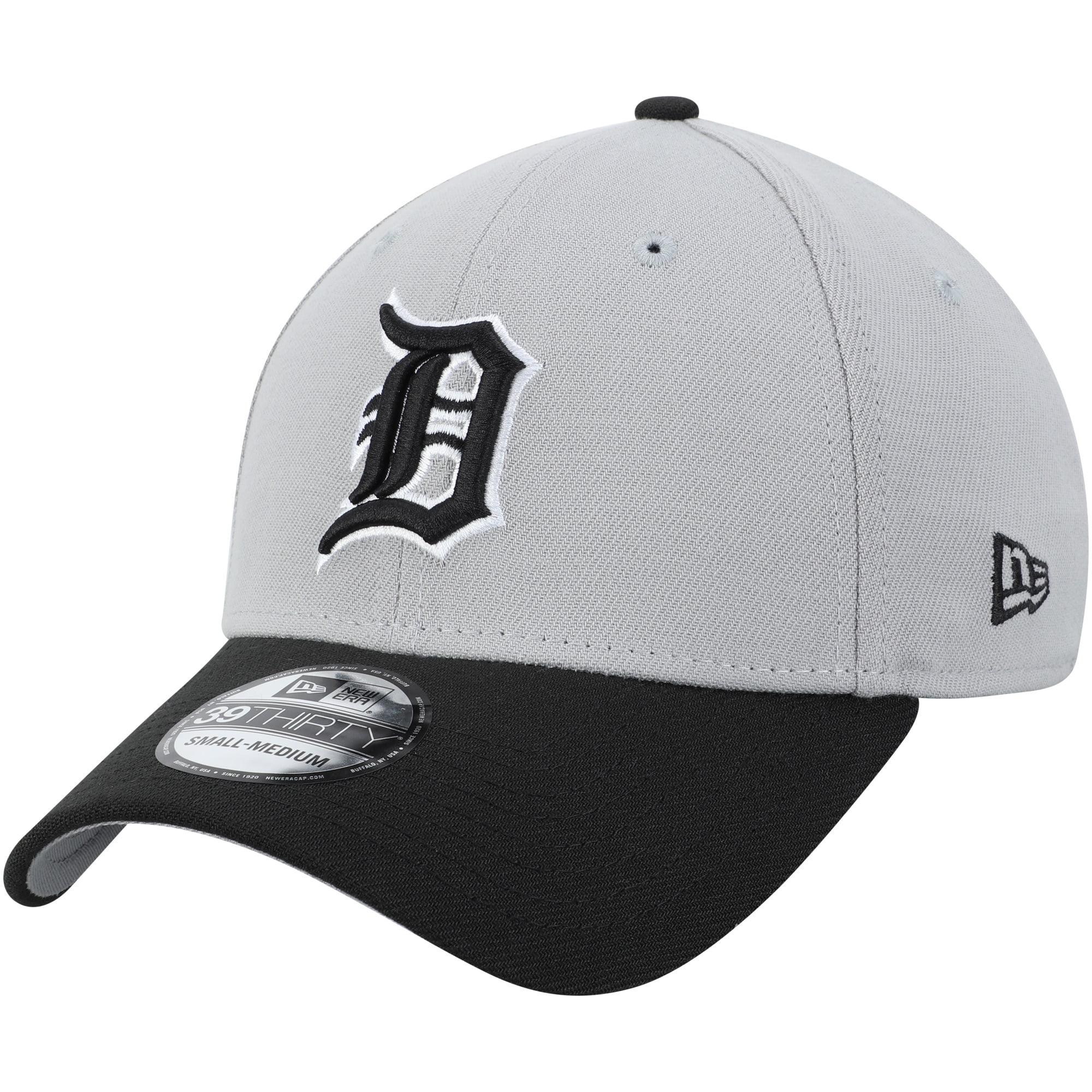 Detroit Tigers New Era Team Classic 39THIRTY Flex Hat - Gray/Black