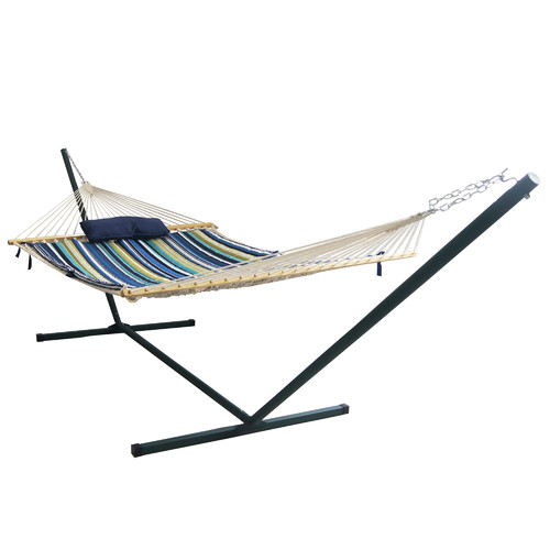 Bayou Breeze Aleisha 4 Piece Polyester Hammock with Stand Set