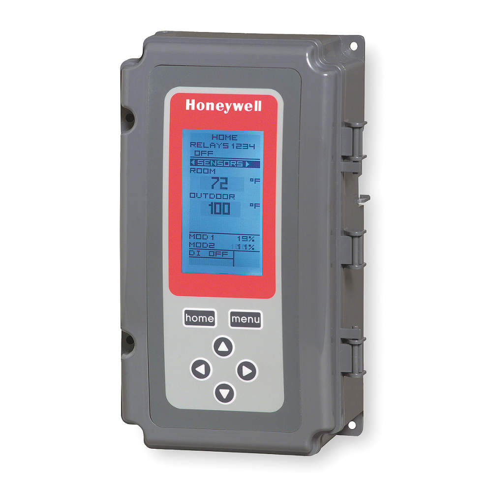 Honeywell Line Voltage Thermostat, 24 to 240VAC T775B2024
