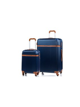 Champs Vintage Collection2pc Hardside Expandable Luggage Set